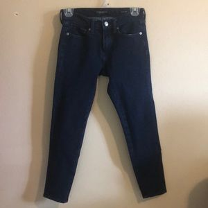 Banana Republic dark blue jeans